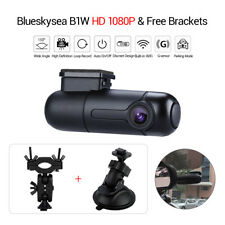 1080P B1W Car Dash Camera Wifi Night Vision +Suction Holders + Rearview Bracket