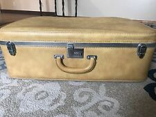 Vintage Ventura Softcase Suitcase Casual Travel ware Yellow-Gold- Mustard-Trunk