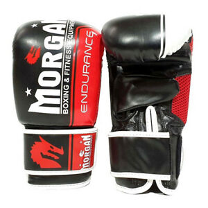 Classic Boxing Gloves Bag Mitts - 5 Sizes - Morgan Sports **FREE DELIVERY**