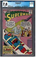 Superman #149 Cgc 7.0 (11/61) Dc Comics white pages