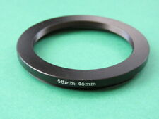58mm-46mm Stepping Step Down Male-Female Lens Filter Ring Adapter 58mm-46mm