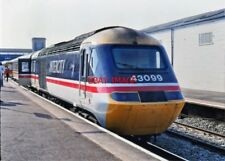 PHOTO  CLASS 43  HST UNIT NO 43099 AT EXETER 18TH MARCH 1990