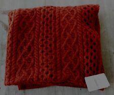 Ireland's Eye Dublin Wool/Cashmere Throw - Red – Made in Ireland – New