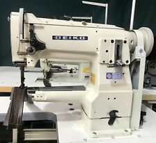 Seiko Cylinder Arm Industrial Walking Foot Compound Feed Leather Sewing Machine