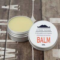 Beard Balm   Growth, Softening & Conditioning Beard   30ml Tin   Tangy Orange