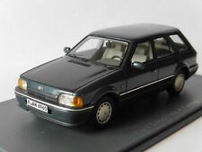 FORD ESCORT 1.6 GL MKIV TURNIER BREAK 1986 BLUE METAL NEO 44960 1/43 BLAU BLEU