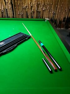 Baizemaster pool snooker cue superb quality cue and case with extension mini and