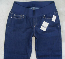 The Gap 1969 Maternity Bootcut Jeans Sz 10 Short Dark Blue Demi Panel NEW