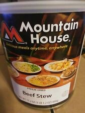 Mountain House Freeze Dried Food- Beef Stew #10 Can