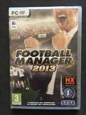 FOOTBALL MANAGER 2013 PC CD ROM ITALIANO NUOVO SIGILLATO