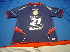 Gremio Barueri Futebol Faz um 21 Embratel KANXA Jersey wit MonogrammedPatch sz G
