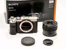 Sony Alpha a7c KIT CON FE 28-60mm F 4–5,6 ARGENTO ILCE - 7cl SILVER