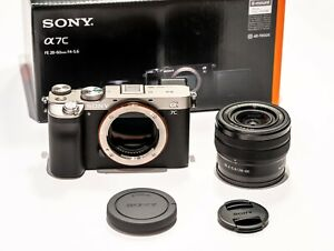 Sony Alpha a7C Kit mit FE 28-60mm F4–5,6 silber ILCE-7CL silver