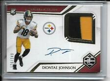 2019 Panini Limited Diontae Johnson Auto PATCH RC /249  Steelers