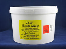 lubesETC Silicone Grease 2.5kg pail for marine/industrial food & water uses