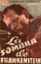 Son of Frankenstein Original  Spanish Herald 1939 Movie see info  Boris Karloff
