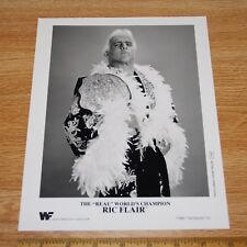 Ric Flair official 8x10 wwe wwf promo photo 1991 p-64