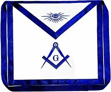 Masonic Square Compass Apron Freemason Blue Lodge Fraternity DMA-1000