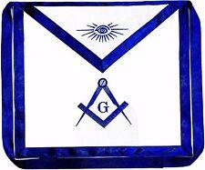 Masonic Square Compass Apron EMBROIDERED  Blue Lodge Fraternity DMA-1000 01