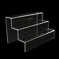 Deko, Display, Präsentations Acrylglas Treppe, Stufendisplay 3-stufig (1604)