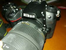 Nikon D7000 body including 2 lenses
