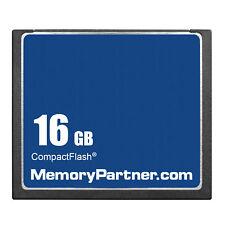16GB CF 16GB CompactFlash CF Memory Card Genuine With Case