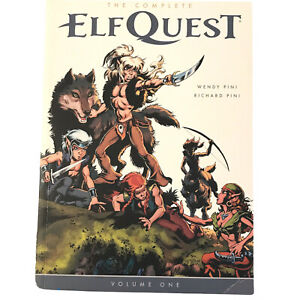 Complete ElfQuest Vol 1 Pini 1st Ed 2014 Comic Graphic Novel Collect Issue 1-20