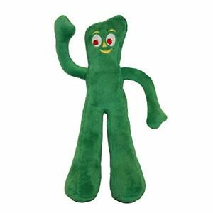 Multipet Gumby Plush Filled Dog Toy 9Inch New