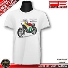 T-Shirt Mike Hailwood Legend Motorbike Norton Honda Triumph TT Race Top Quality!