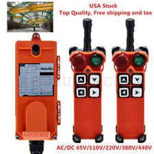 Us Telecrane Universal Industrial Crane Remote Control Wireless Radio Controller