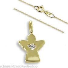 Schutzengel & Goldkette Kette 42 cm Gold 333 Engel Schmuck Echt Goldschmuck 2250