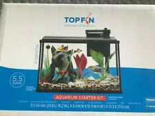 Top Fin  Aquarium and accessories black kit - 5.5 Gallon - factory sealed box