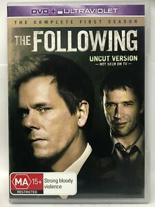 The Following - Complete First Season - 4 DVD Set - AusPost with Tracking