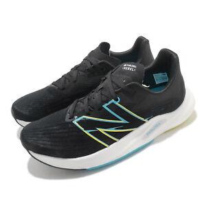 New Balance FuelCell Rebel V2 Wide Black White Blue Men Running Shoes MFCXLK2 2E