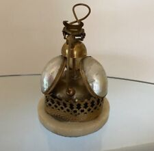 More details for antique french bell 19th century aesthetics movement mother of pearl brass 1870s