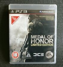 MEDAL OF HONOR LIMITED EDITION Game Sony PlayStation 3 PS3 Mint Disc