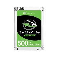 """Seagate Barracuda ST500LM030 500GB SATA 6Gb/s 128MB 2.5"""" Hard Drive Height 7mm"""