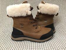 UGG Adirondack III Snow Boots Waterproof Leather Wool Lining Size 6 Womens