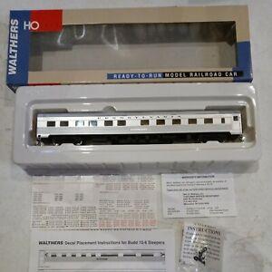 Walthers 932-6346 Pennsylvania Ho 85ft Budd 10-6 Sleeper Car