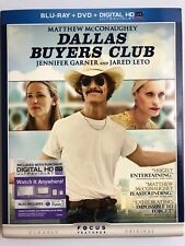 Dallas Buyers Club Blu-ray + DVD Matthew McConaughey Jared Leto Jennifer Garner