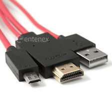 MHL Micro USB to HDMI HDTV Cable Adapter for Samsung Galaxy S3 SIII S4 Note 2 US