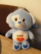 PELUCHE BISOUNOURS/CARE BEARS LOYAL HEART DOG/TOUTAMI LE CHIEN - NEUF - 20 CM