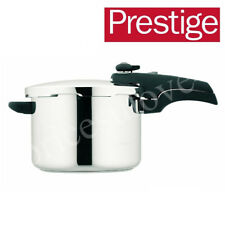PRESTIGE SMARTPLUS 6 LITRE 57050 STAINLESS STEEL PRESSURE COOKER PAN BRAND NEW