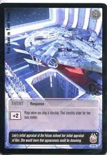 Star Wars Jedi Knights TCG Premiere #77 You Came In That Thing [R] SILVER
