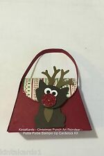 Stampin Up Petite Purse Reindeer - This Christmas DSP, Cardstock Punch Art Kit
