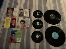Elvis Presley Record Lot Vintage Blue Hawaii King Creole Spinout If I Can Dream
