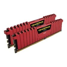 Corsair Vengeance LPX 8GB (2x4GB) DIMM Memory - DDR4, 2400MHz, PC4-19200, Red