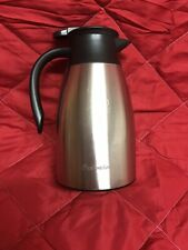 Airberlin/Air Berlin Thermoskanne Kaffee/-Teekanne 1,5 Liter Edelstahl Isosteel