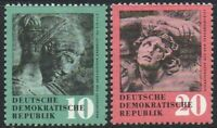 East Germany 1958 (DDR) Antique Treasures 10 & 20 Pfg XF MINT MLH Stamp Pair Set
