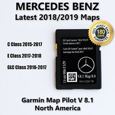 Mercedes-Benz Garmin Map Pilot A2139069903 Navigation SD Card 2018 North America